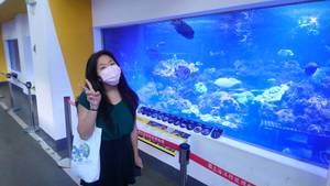 IMAS student Grace Chang in the NMMST laboratory(Photo: IMAS)